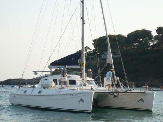 Cat 23 - Barcelona Day Charter Catamaran - Puerto Olimpico
