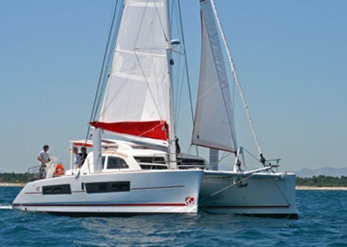 Catana 42 CI with watermaker - 4 Cabins - Tahiti,Bora Bora an the South Pacific