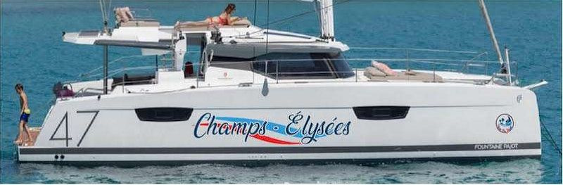CHAMPS ELYSEES - Fountaine Pajot Soana 47 - 4 Cabins - British Virgin Islands