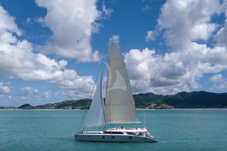 Charter Yacht CHE - Sunreef 114 - Naples - Palma - BVI