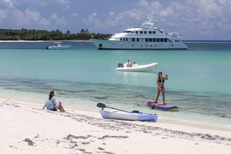 Charter Yacht CHERISH II - Christensen 120 - 4 Cabins - Nassau - Paradise Island - Virgin Islands - Tortola