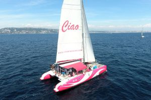 CIAO - Riviera Event Catamaran - 28 Cruising - St Raphael