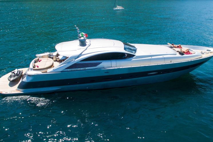 Charter Yacht CINQUE - Pershing 88 - 4 Cabins - Naples - Sicily - Sorrento