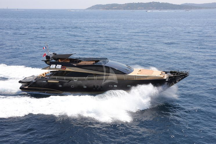 Charter Yacht CLAREMONT - VGB Superyachts 105 - 4 Cabins - Cannes - Nice - Monaco - Antibes