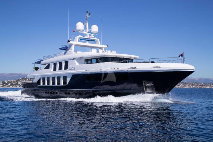 Charter Yacht CLICIA - 42m Baglietto - 5 Cabins - Cannes - Monaco - St Tropez - Portofino - Porto Cervo - Barcelona - Palma - Puerto Banus
