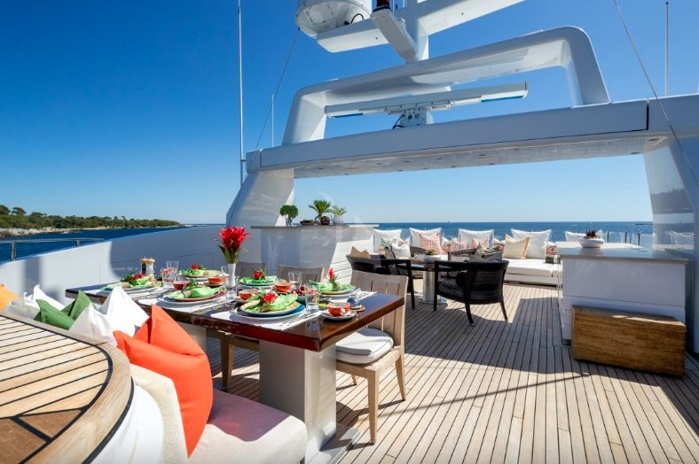 Clicia - 42m Baglietto - Luxury Motor Yacht - Sun deck