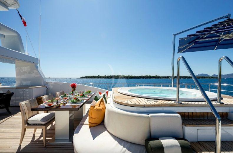 Clicia - 42m Baglietto - Luxury Motor Yacht - Sun deck Jaczzi