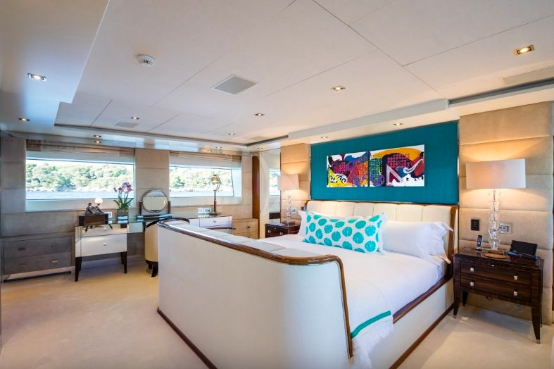 Clicia - 42m Baglietto - Luxury Motor Yacht  - Master stateroom
