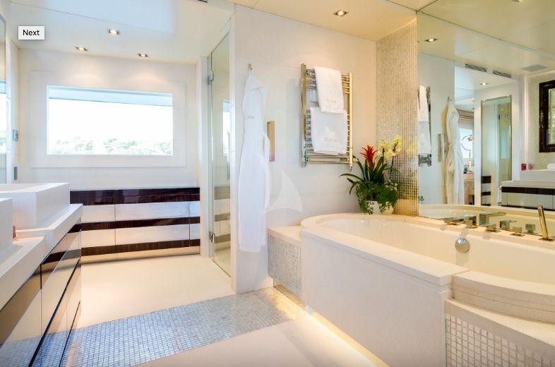 Clicia - 42m Baglietto - Luxury Motor Yacht - Master bathroom