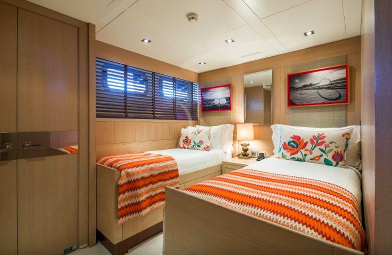 Clicia - 42m Baglietto - Luxury Motor Yacht - Convertible Twin