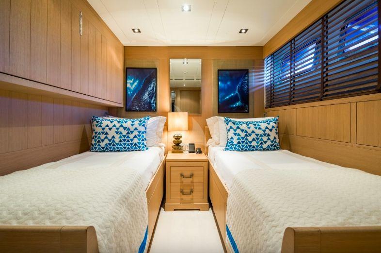 Clicia - 42m Baglietto - Luxury Motor Yacht - Twin with Pullman