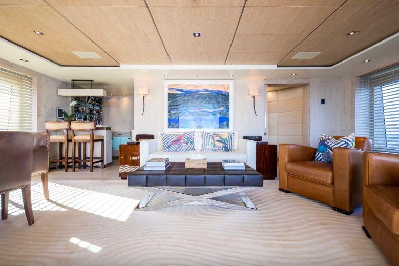 Clicia - 42m Baglietto - Luxury Motor Yacht - Sky lounge