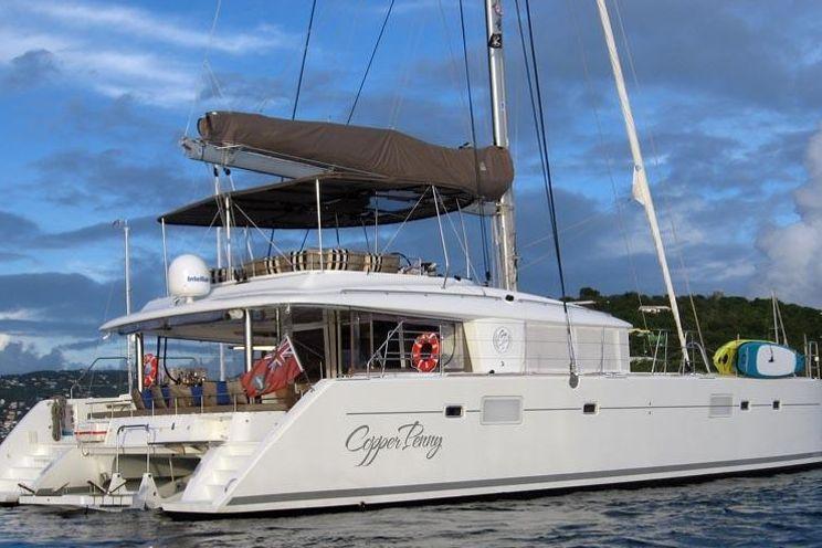 Charter Yacht COPPER PENNY - Lagoon 560 - 3 Cabins - BVI - Tortola - Virgin Gorda - Jost Van Dyke - British Virgin Islands