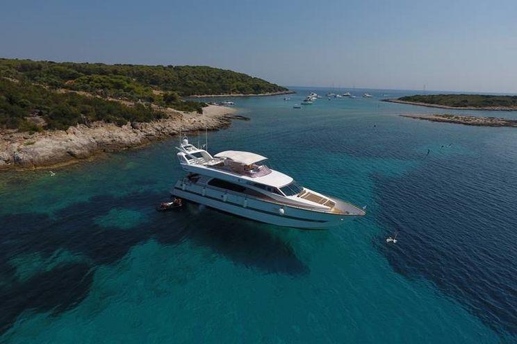 Charter Yacht SKYFALL ELEGANCE - Horizon 23m - 4 Cabins - Sibenik - Split - Croatia