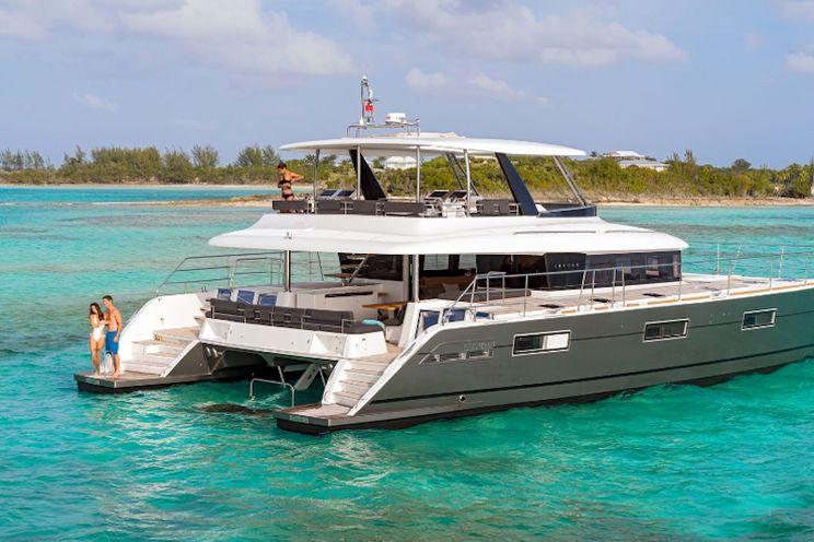 Charter Yacht CUTE LITTLE CAT - Lagoon 630 - 4 Cabins - Athens - Mykonos - New England