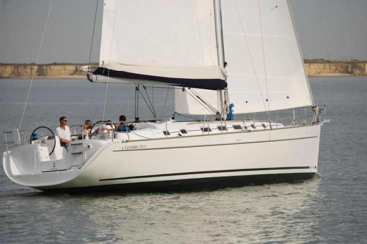 Charter Yacht Cyclades 50.4 - 5 Cabins - Palermo