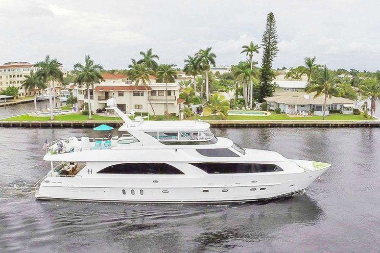 Charter Yacht CYNDERELLA - Hargrave 101 - 4 Cabins - St Thomas - Virgin Islands - Bahamas - Chesapeake - Annapolis