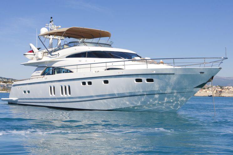 Charter Yacht D5 - Fairline Squadron 78 - 4 Cabins - Antibes - Cannes - Monaco - St Tropez