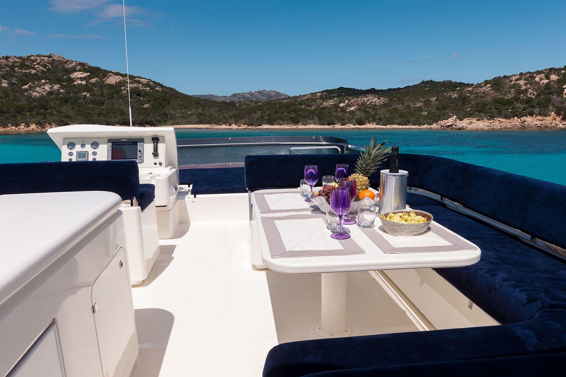 D`ARTAGNAN Ferretti 630 Luxury Motoryacht Sun Deck