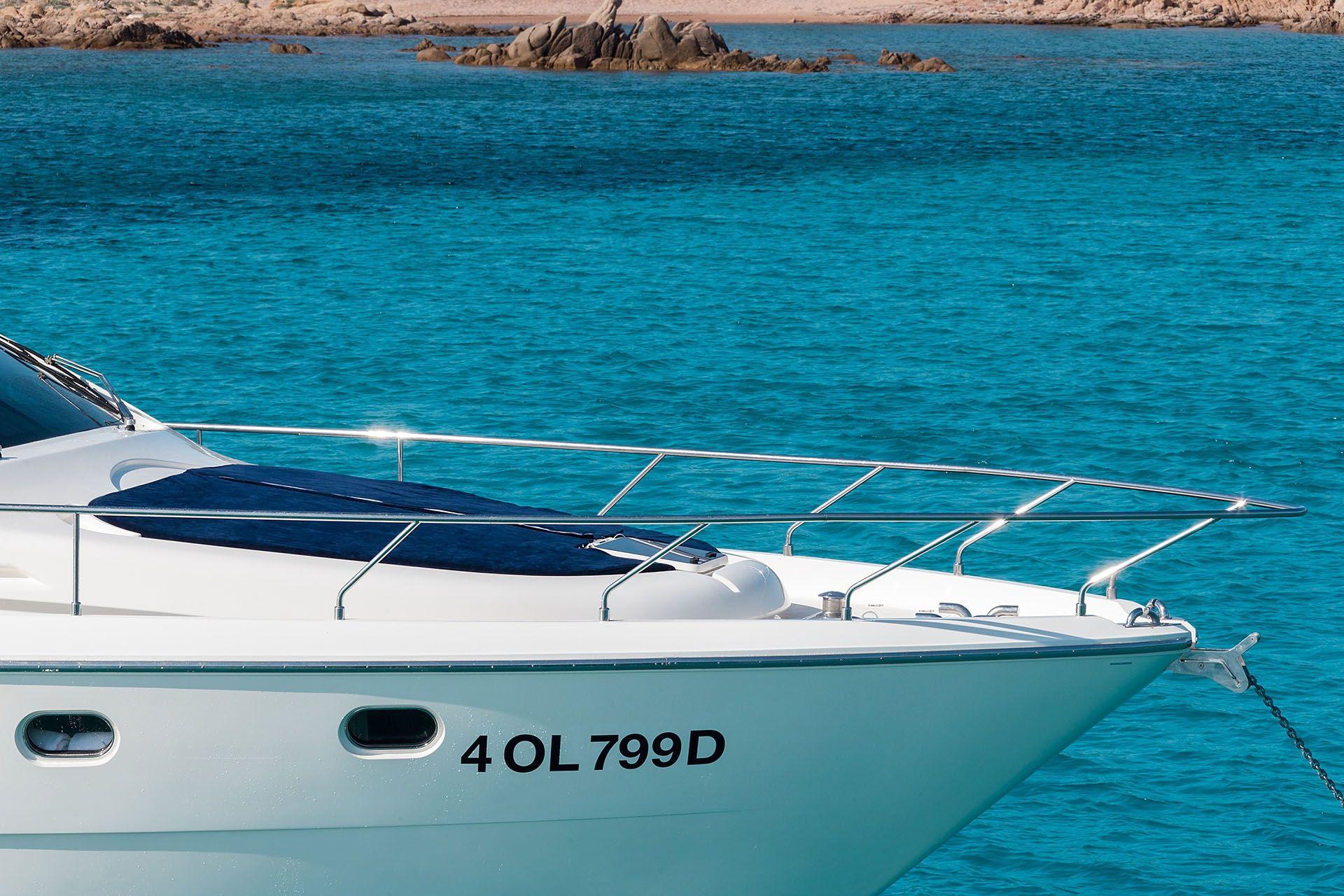 D`ARTAGNAN Ferretti 630 Luxury Motoryacht Bow