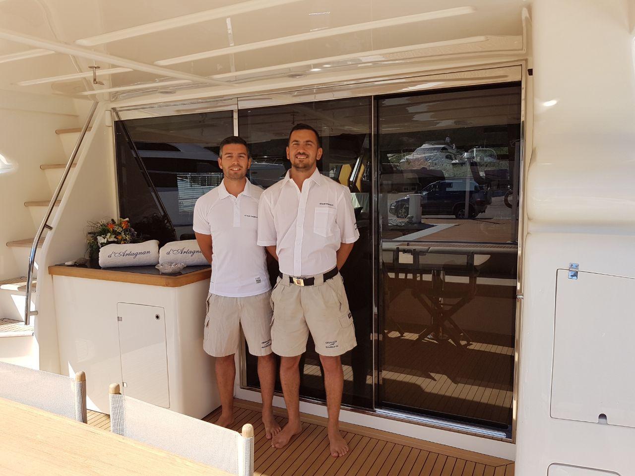 D`ARTAGNAN Ferretti 630 Luxury Motoryacht The Team