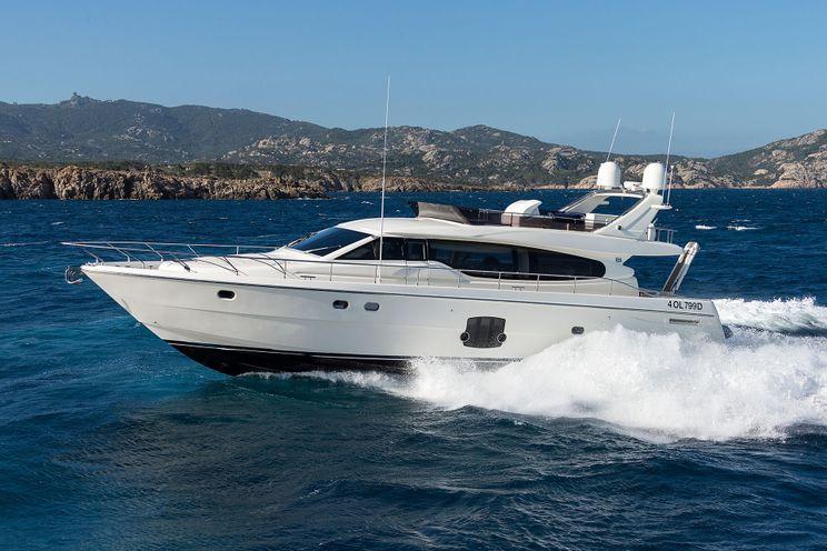 Charter Yacht D ARTAGNAN - Ferretti 630 - 3 Cabins - Porto Cervo - Portisco - Bonifacio - Corsica