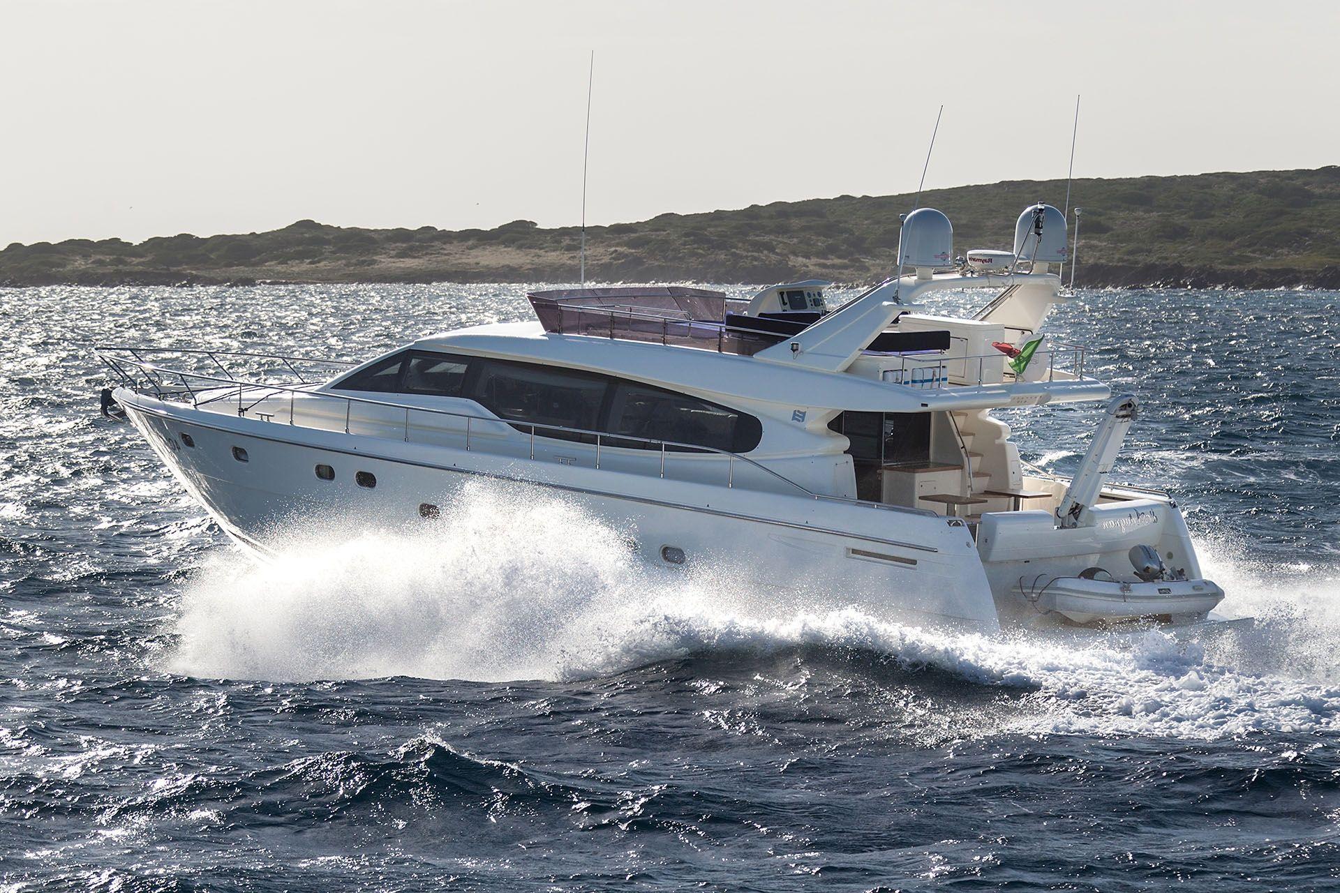 D`ARTAGNAN Ferretti 630 Luxury Motoryacht Running