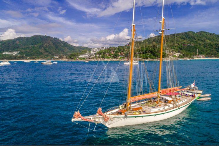 Charter Yacht DALLINGHOO - Schooner 99 - 4 Cabins - Phuket - Malaysia - Myanmar - Indonesia