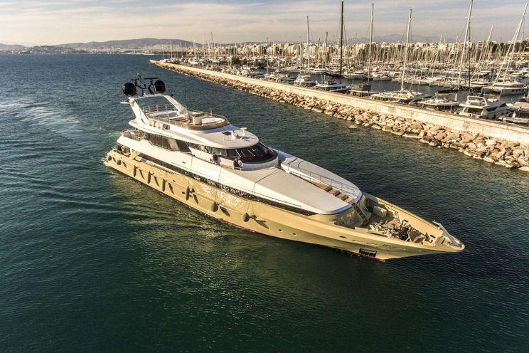 Charter Yacht DALOLI - Heesen 45m - 5 Cabins - Athens - Croatia - Turkey