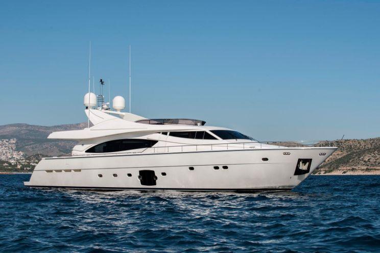 Charter Yacht DAY OFF - Ferretti 881 - Athens - Lefkas - Kos - Mykonos