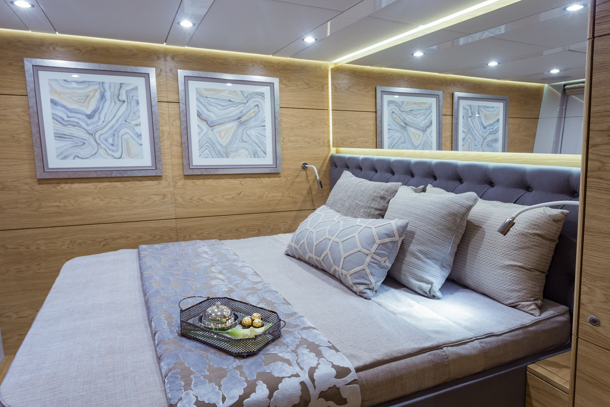 DIANA Sunreef 74 Luxury Catamaran VIP Cabin