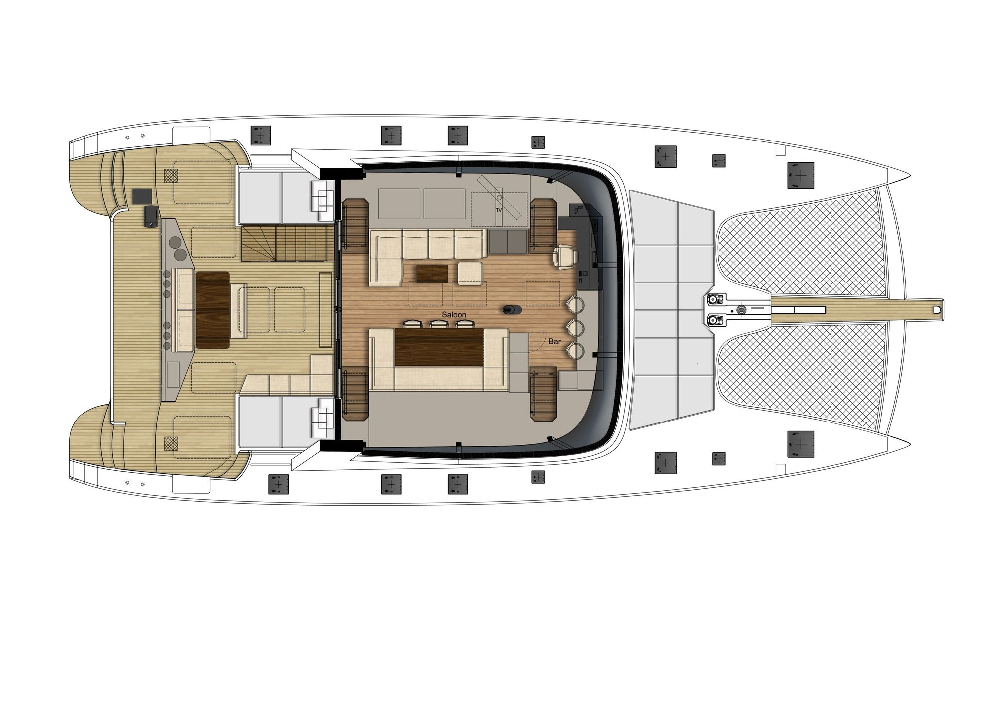 DIANA Sunreef 74 Luxury Catamaran
