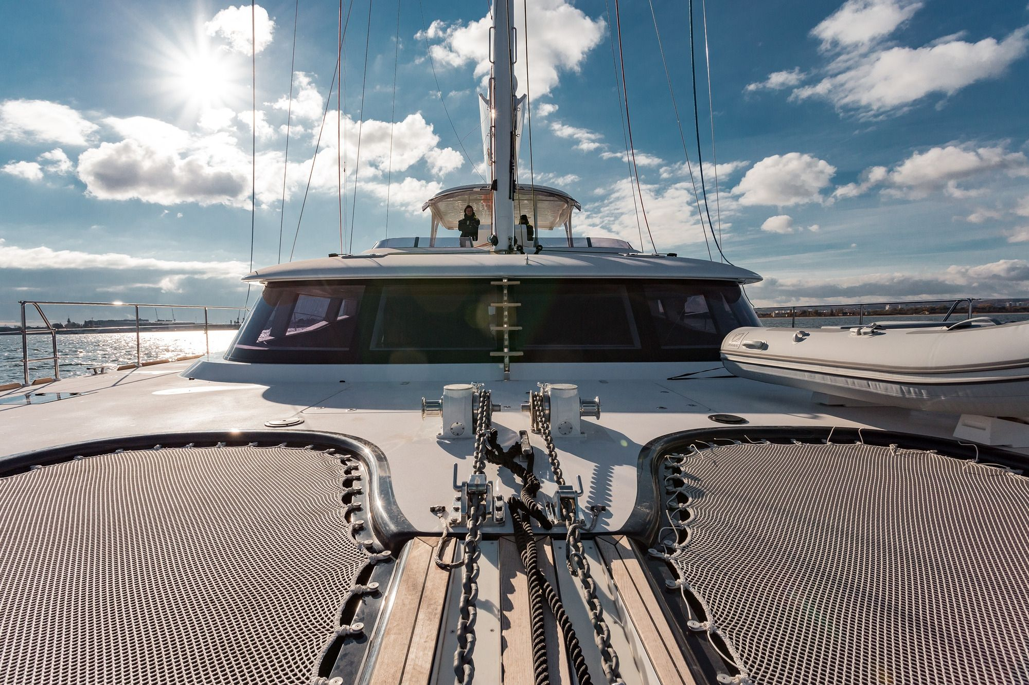 DIANA Sunreef 74 Luxury Catamaran Bow
