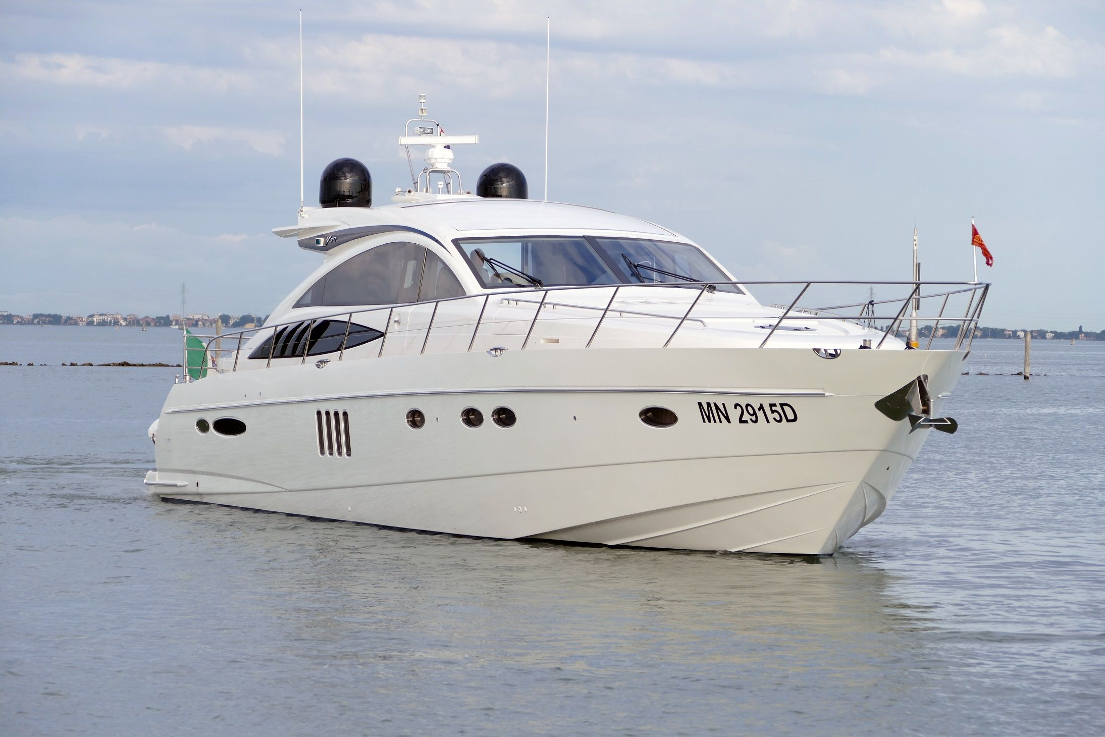 DIN IV(ALEALI)- Princess V70 - 3 Cabins - Naples - Positano - Capri - Amalfi