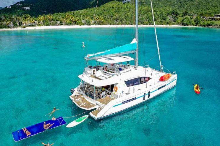 Charter Yacht DOLPHIN DAZE - Leopard 58 - 5 cabins - St Thomas - St John - BVI - Nanny Cay - Tortola