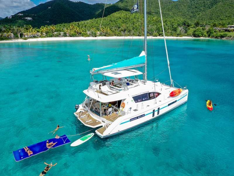 DOLPHIN DAZE - Leopard 58 - 5 cabins - St Thomas - St John - BVI - Nanny Cay - Tortola