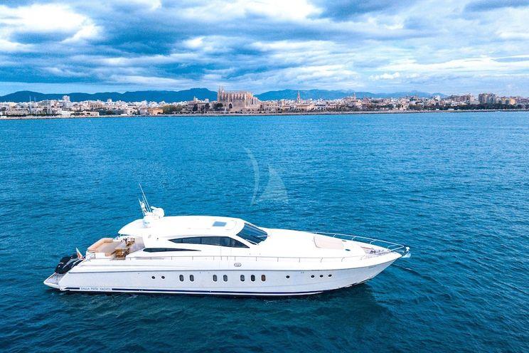 Charter Yacht DOUBLE D - Dalla Pieta 27 - 4 Cabins - Balearic Islands - Palma - Ibiza