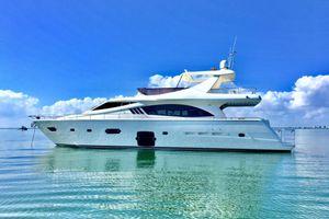 DR NO - Ferretti 75 - Miami Day Charter Yacht - Miami - South Beach - Florida