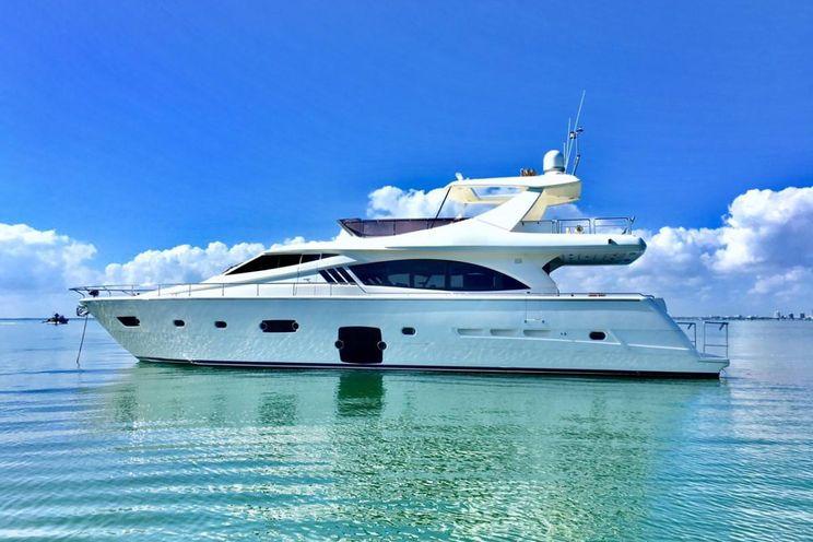 Charter Yacht DR NO - Ferretti 75 - Miami Day Charter Yacht - Miami - South Beach - Florida