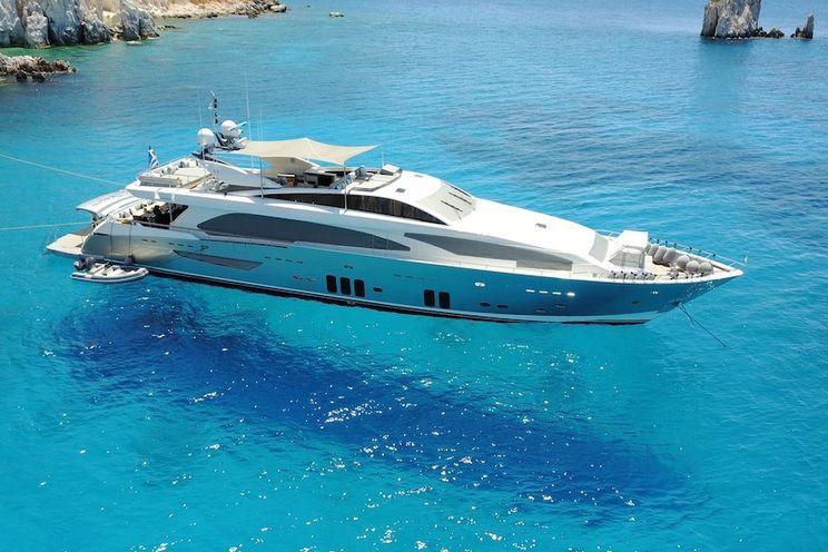 Charter Yacht DRAGON - Guy Couach 37m - 6 Cabins - Athens - Mykonos - Santorini