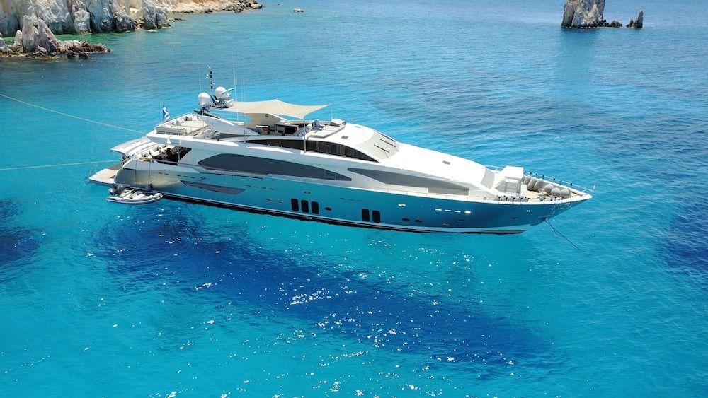 DRAGON - Guy Couach 37m - 6 Cabins - Athens - Mykonos - Santorini