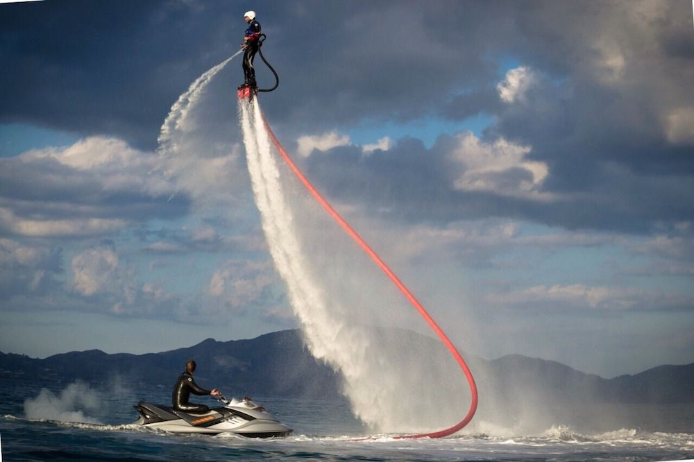 DRAGON Motor Yacht Water Sports
