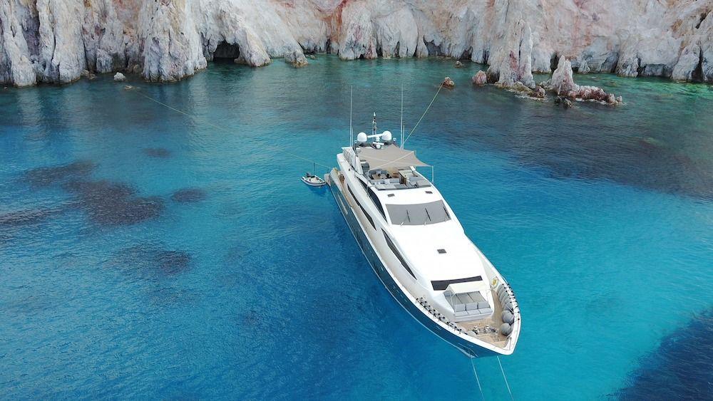 DRAGON Motor Yacht Anchor Cyclades