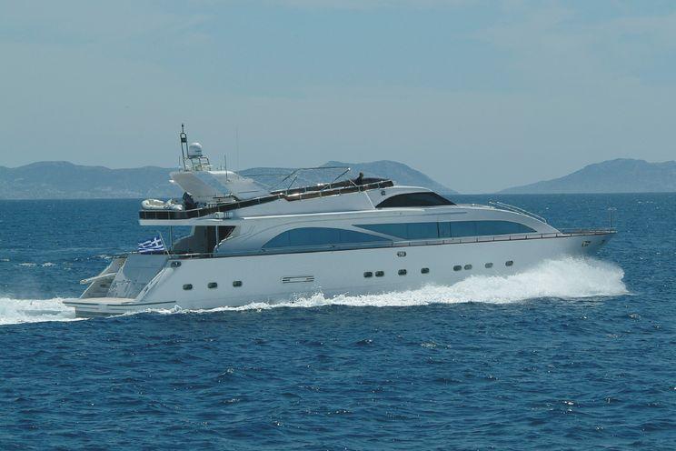Charter Yacht DREAM B - Giant 99 - 5 Cabins - Athens - Rhodes - Corfu