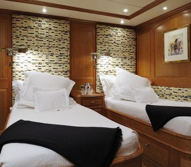 DRUMBEAT Alloy 53m Luxury Sailing Yacht Twin Cabin