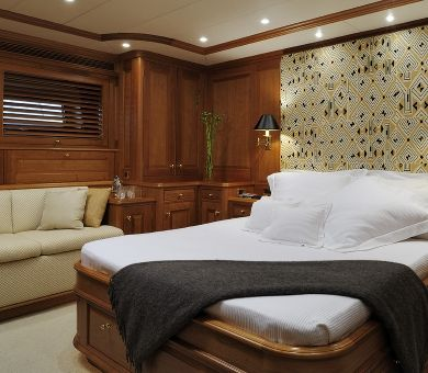 DRUMBEAT Alloy 53m Luxury Sailing Yacht VIP Cabin