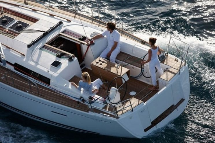 Charter Yacht smile