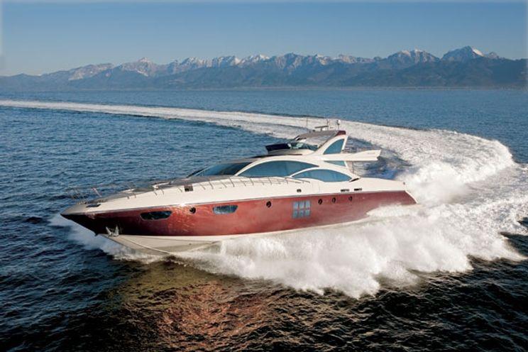 Charter Yacht DUKE - Azimut 103 - 4 Cabins - Athens - Rhodes - Kos