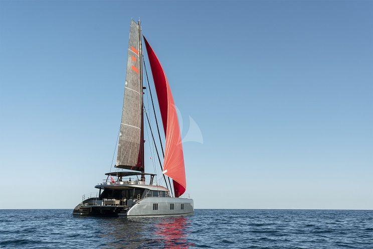 Charter Yacht E  SUPERCAT - Sunreef 60 - 4 Cabins - Olbia - Porto Cervo - Leeward Islands - Virgin Islands