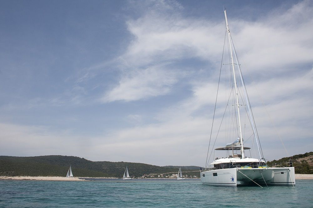 EAGLE OF NORWAY - Crewed Catamaran - Bow View